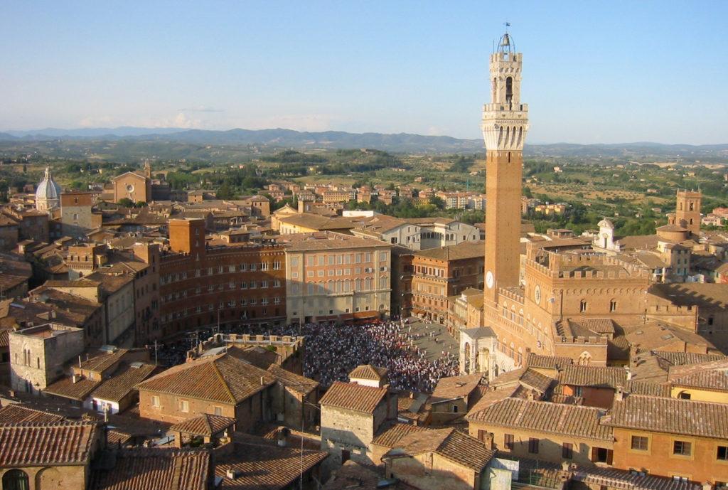 Siena, der perfekte Platz